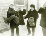 Воспитаники отделения тяжелой атлетики, 1986 год.