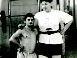 Марина Антонюк и Юрий Гагарин.