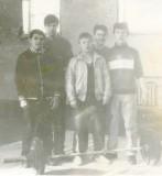 Воспитаники отделения тяжелой атлетики, 1987 год.